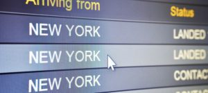 Arriving at New York airport can be hassle-free