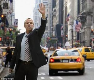 Corporate car service solution to hailing a cab